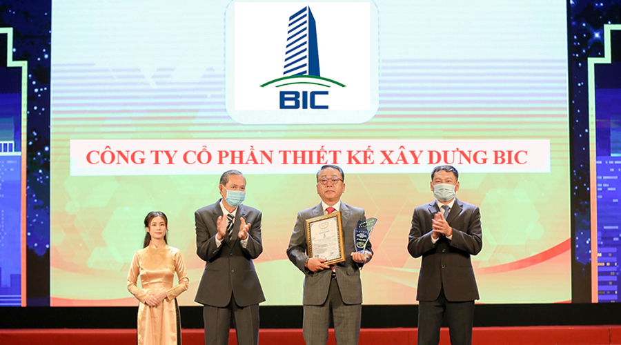 BIC CONSTRUCTION ARCHITECTURAL JOINT STOCK COMPANY RECEIVED THE AWARD OF TOP 10 ASEAN BRANDS 2020