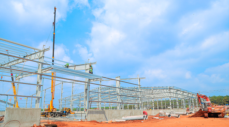 Experience in Construction of Pre-engineered Steel Buildings