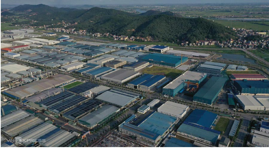 THE EXPANSION OF QUANG CHAU INDUSTRIAL PARK