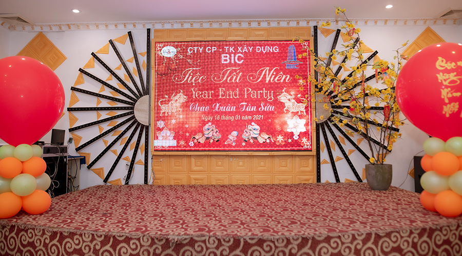 Year End Party BIC 2020