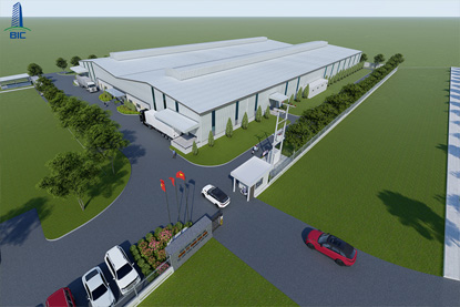 PROJECT DESIGN OF FACTORY FOR LEASE IN Dau Giay Industrial Park
